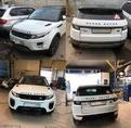 Range Rover Evoque установили обвес Dynamic рестайлинг