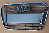 Audi A6 S6 C7 решетка радиатора (серая)