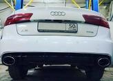 Audi A6 C7 RS6 установка диффузора под ключ