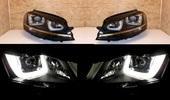 Volkswagen Golf 7 фары LED с ксеноном