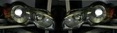 Jaguar XF фары адаптивные дорестайлинговые