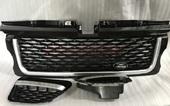 Range Rover Sport решетка радиатора Black+Silvery 2005-2009