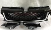 Range Rover Sport решетка радиатора Black+Silvery 2010-2013