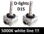 D1S D-lights white line 5000K лампа ксенон