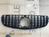 Mercedes GLC x253 решетка радиатора GTR черный глянец