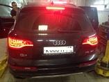 Audi Q7 установка рестайлинговых фонарей