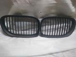BMW 7 F01 решетки радиатора чёрные матовые