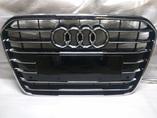 Audi A6 C7 дорестайлинг решетка радиатора хром