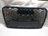 Audi A7 дорестайлинг решетка радиатора в стиле RS7 черная