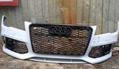 Audi A7 передний бампер в стиле RS до рестайлинга