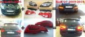 Audi Q7 рестайлинг под ключ (фары, фонари, поворотники, решетка)