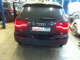 Установка задних рестайлинговых фонарей под ключ Audi Q7
