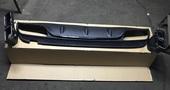 Mercedes C w205 диффузор заднего бампера AMG c63