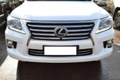 Lexus LX 2013 фары LED ксенон
