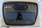 Audi A6 C6 решетка радиатора в стиле RS6 Obsidian Black