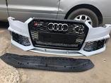 Audi A6 C7 передний бампер в сборе в стиле RS6 рестайлинг
