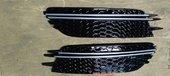 Audi A6 C7 решетки в бампер в стиле RS6 S-line