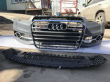 Audi S6 A6 C7 S-line бампер передний в сборе