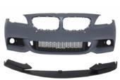 BMW 5 F10 передний бампер M-пакет + сплиттер (дорестайлинг)