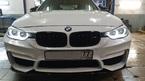 BMW F30 установили рестайлинг + LED фары + Performance LCI фонари + M3 обвес под ключ