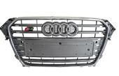 Решетка радиатора Ауди А4 в стиле Audi S4 2012-2014