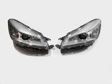 Ford Kuga 2 поколение фары линзованные с светодиодной дхо 2012-2016 год