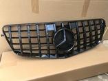 Mercedes w212 решетка радиатора AMG GT дорест черная
