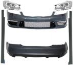 Обвес Mercedes w221 AMG s63 + комплект передней оптики (под 1 блок)