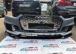 Передний бампер Audi A5 B9 RS5 в сборе с губой RS