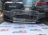 Передний бампер Audi A5 B9 S5 S Line 2017-2020