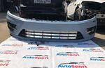 Передний бампер Passat CC рестайл в стиле R-line