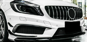 Решетка GT с хромом Mercedes A-Klasse W176 AMG A45 2015-2018