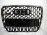 Решетка радиатора Audi A6 C6 в стиле от RS6