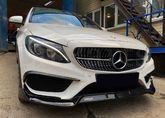 Установили наш AMG обвес на Mercedes-Benz C-Klasse W205