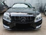 Установили наш бампер AMG пакет с решеткой GT Black на Mercedes-Benz E-Klasse W212 рестайлинг