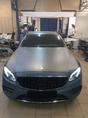Установили наш бампер AMG пакет с решеткой радиатора GT Black на Mercedes-Benz E-Klasse W213 дорестайлинг