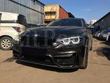 Установка бампера в стиле M3 с черными глянцевыми ноздрями на BMW 3 Series F30