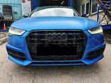 Установка нашего обвеса S-Line с фарами FullLED на Audi A6 C7