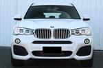 Установка нашего рестайлингового обвеса M-Design для BMW X3 F25 дорестайлинг