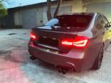 Установка нашего заднего бампера M пакет с диффузором M-Performance, а также LED фонарей M-Performance рестайлинговых с спойлером M на BMW 3 Series F30 дорестайлинг