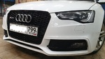Установка решетки радиатора Audi A5 в стиле RS5 (2011-2016)