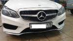 Установка решетки радиатора Mercedes w212 Diamond